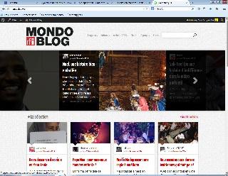 Page d'accueil mondoblog
