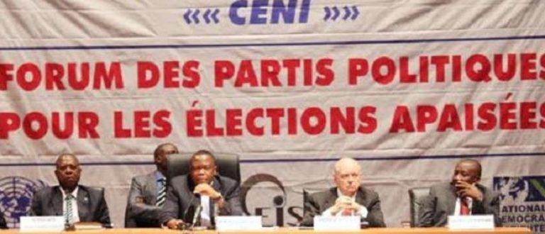 Article : La R.D.Congo compte 477 partis politiques