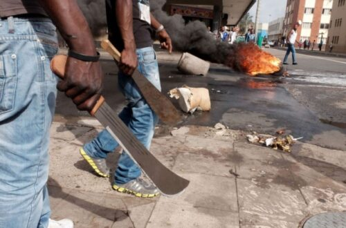 Article : Honte à vous Sud-Africains !